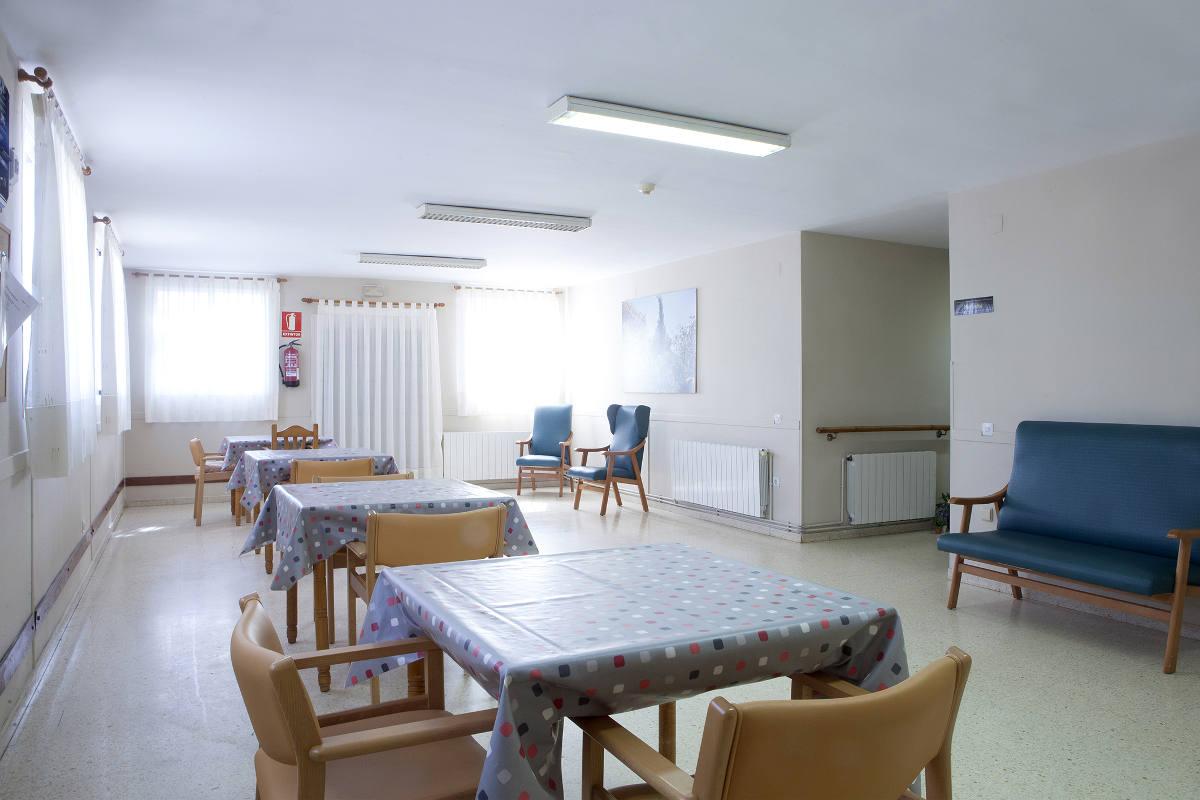 Comedor unidad demencias Residencia Sant Roc