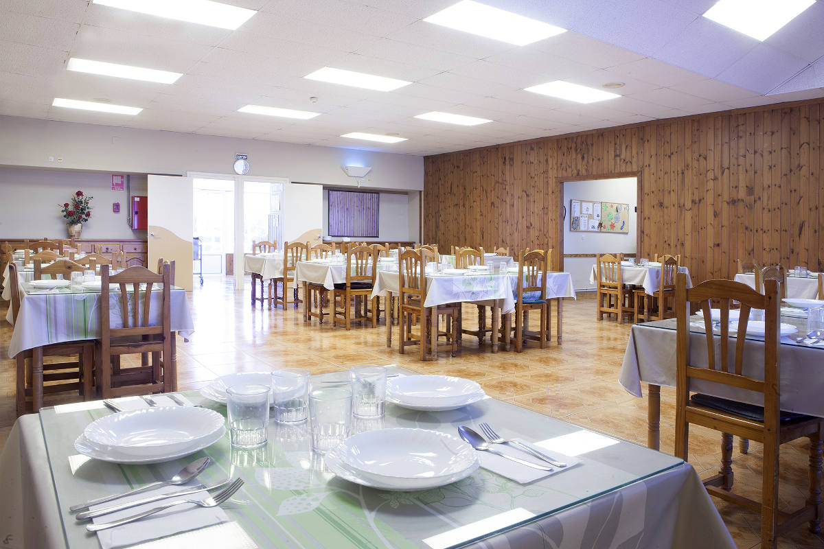 Sala Comedor Residencia Sant Roc