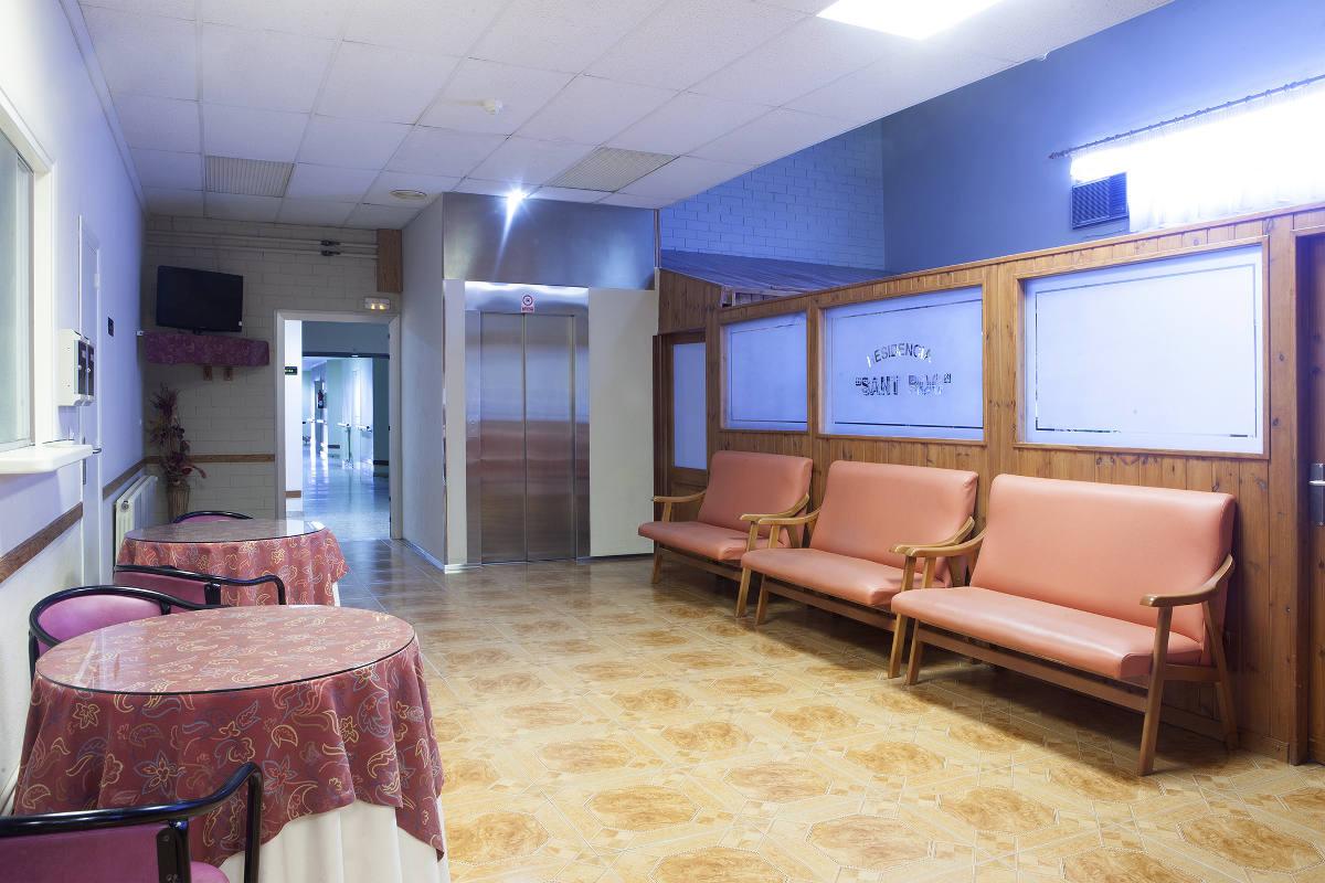 Sala televisión Residencia Sant Roc